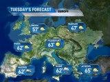 European Vacation Forecast - 03/26/2011