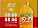 Publicité Oasis 1995