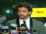 Hrithik Roshan Bollywood Hunk At 56th Filmfare Awards Night 2011