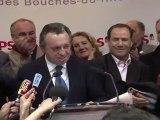 Guérini quittera la tête du PS des Bouches-du-Rhône s'il est réélu président du Conseil général
