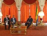 Sn. Gül, Gabon Cumhurbaşkanı Ali Bongo Ondimba ile basın toplantısı düzenledi