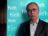 Arab uprisings : interview with Yusuf Alatas, FIDH vice president, Turkey