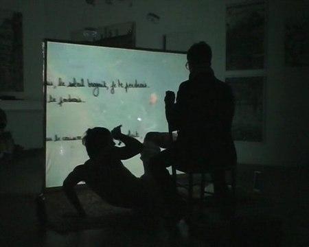 Liseur(S) de(S) Rêve(S) - montage version intégrale - indoor galerie - Matthias Degoul / Orpheus Black