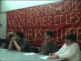 Table Rase - Meeting de solidarité avec les peuples et les travailleurs en lutte en Egypte, en Tunisie et ailleurs - Intervention Maroc