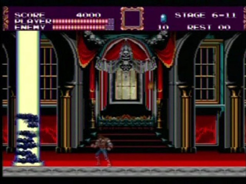 [PAD A WAM - E1] TEST Castlevania Bloodlines (MegaDrive)