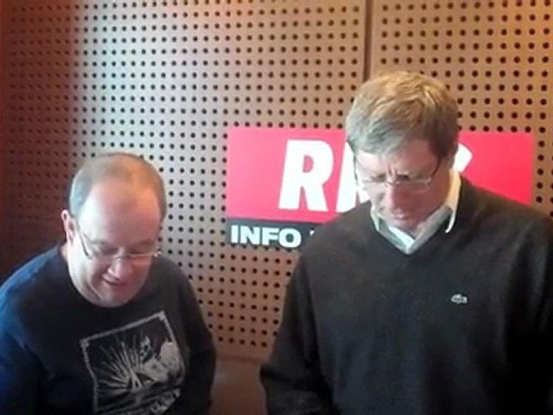 Parodies RMC : Jean-Michel Larqué et Jano Resseguié