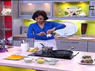 Les gâteaux de Choumicha - dessert pas cher tarte orange et madeleine