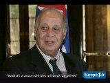 """""""Kadhafi a accumulé des milliards"""""""