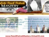 pencil portrait mastery - pencil drawings of people - how to draw portraits