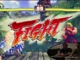 Street Fighter 4 - Xbox 360 - First Look - Custom Arcade Sti