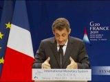 Discours de N. Sarkozy à Nankin sur la réforme du système monétaire international