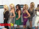 "The Real Housewives of Beverly Hills Cast at ""BRAVO 2011 Upfront"""
