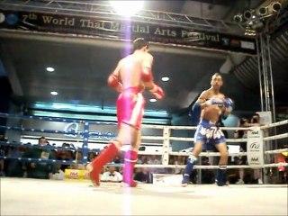 Mistrzostwa Świata Muay Thai Wojciech Kosowski vs Brazylia