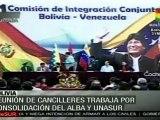 Chávez visita Bolivia en su gira por Sudamérica