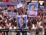 Pro and anti-Saleh demonstrations in Sanaa - no comment