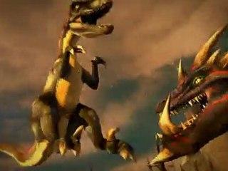 Combat de Géants : Dinosaures 3D - vidéo lancement de Combat de Géants : Dinosaures 3D