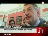 Hérvé Gaymard élu au Conseil Général (Savoie)