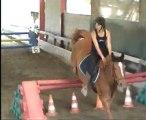 Frivole et moi, concours d'obstacles 2007