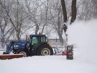 Souffleuse à neige