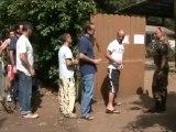 RCI (Côte d'Ivoire) - Patrouille et accueil des ressortissants à Port-Bouët - Force Licorne (02/04/2011)