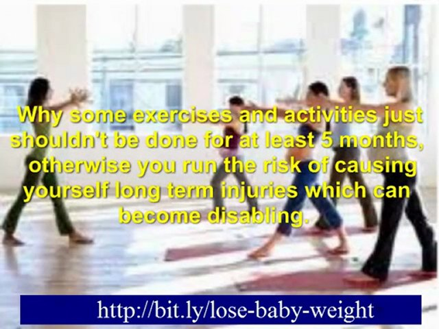 losing baby belly – losing pregnancy weight quickly – lose baby weight fast