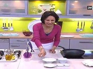 Cuisine de Choumicha - Gratin De Chou Fleur Et Beignet