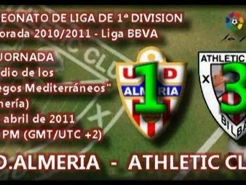 Jor.30: UD Almería 1 - Athletic 3 (4/04/11)