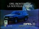 Publicité Opel Frontera 1993