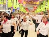 Flashmob de l'anniversaire Auchan Saint-Martin-Boulogne (Pas-de-Calais)