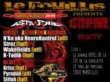 ASTROFONIK PARTY / DJ PYRAMID UTF  by VJ NAD