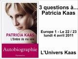 Patricia Kaas - L'Ombre de ma voix - Emission du 4 avril 2011
