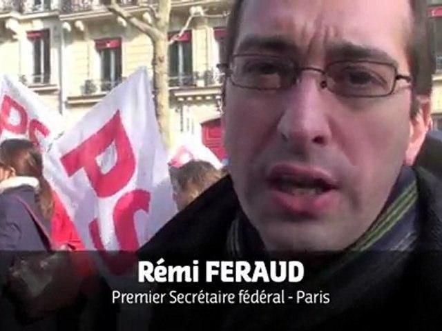 Manif Egalité des Droits 5 mars 2011