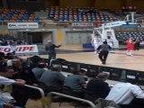 Orleans Loiret Basket contre STB Le Havre Espoirs Pro A