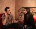 Anaïs Demoustier interviewé par Nicolas Fabiani au Théâtre National de Nice pour Web Tv nice