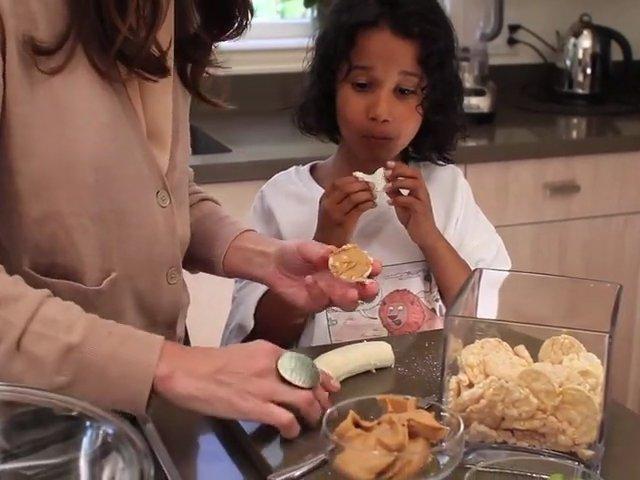 Think Thin Gluten Free Recipe #2: Mini Rice Cake Sandwiches