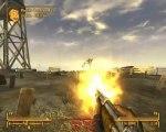 Fallout New Vegas (part.005) Pres d'un feu de camp, sur la piste