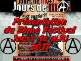 ((A)) 3ème Festival Jours de mAi ((A)) 29,30&1er mAi  2011