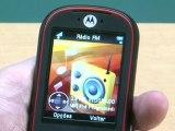 Celular MOTOROKR EM35, da Motorola, vai bem com MP3 e FM