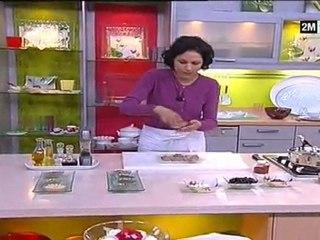 Cuisine de Choumicha - Couscous de riz au poisson