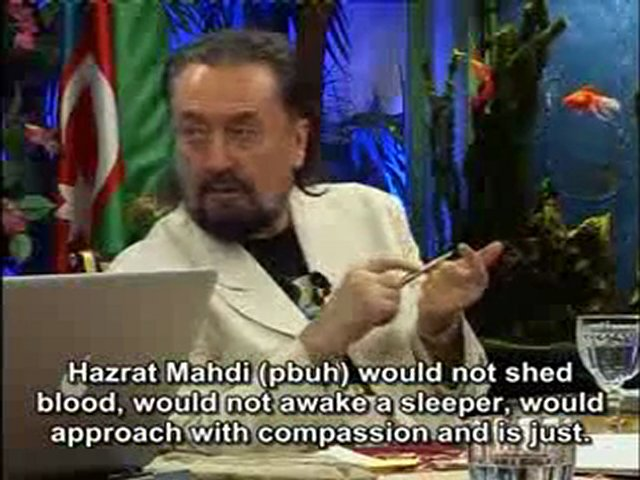 When we come across people who are under the influence of the system of the dajjal (anti-messiah) we should respond them with the attributes of the students of Hazrat Mahdi