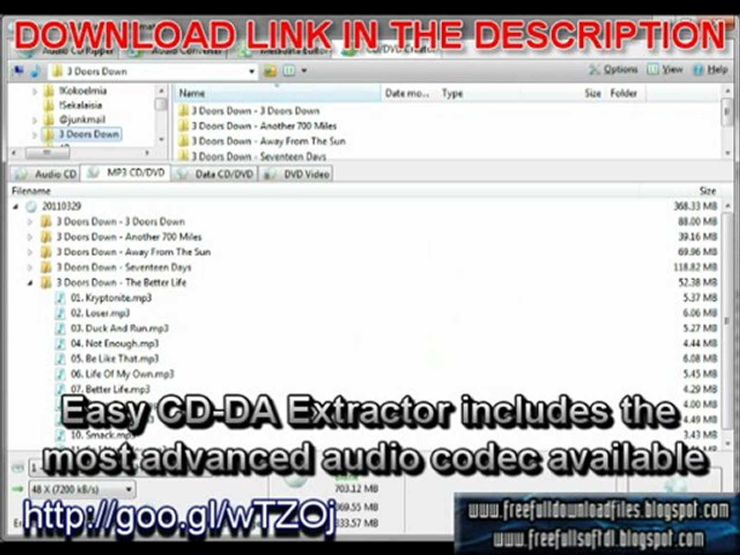 Easy CD-DA Extractor 2011 Ultimate 2 0 0 free full download with crack