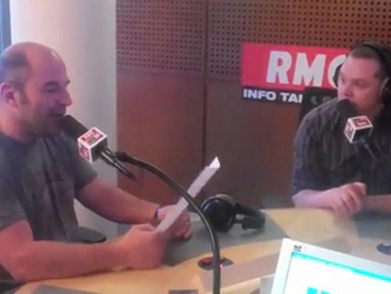 Parodies RMC : Vincent Moscato et Adrien Aigoin