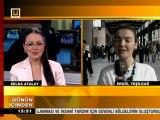 8 Nisan 2011 Ergül Yeşildağ 3G ile Ankara GARI ülke tv canlı bağlantı