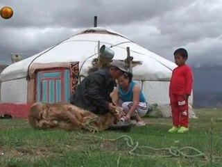 Mongolischer Halssinger ladet uns ein das Land von Dschingis Khan kennenzulernen. Mongolian Throatsinging