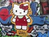 Mur des Pyrénées - Graffeurs en action - # 6