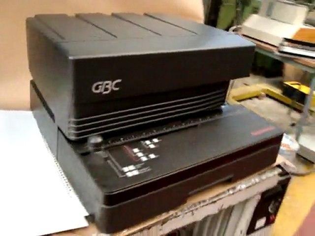 GBC Magnapunch perforatrice reliure morlans-euroma.com