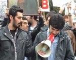 TGB Sakarya'dan şifreli YGS protesto eylemi