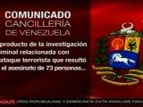Venezuela desaprueba absolución de Posada Carriles