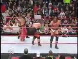 Triple H saved by HBK!
