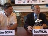 Conférence de presse  « Tour de France Auto 2011 » animée par Maurice Ramblière